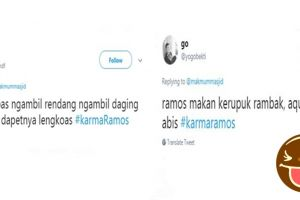 11 Cuitan 'karmanya Sergio Ramos' ini bikin ngakak salto