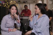 Duet Nagita Slavina & Via Vallen nyanyikan lagu Sayang, panen pujian