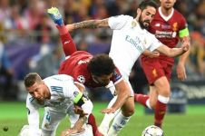 Lawyer Mesir tuntut Sergio Ramos atas cidera Salah, nilainya fantastis