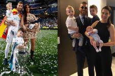 Terkenal kasar di lapangan, ini 10 bukti Sergio Ramos family man