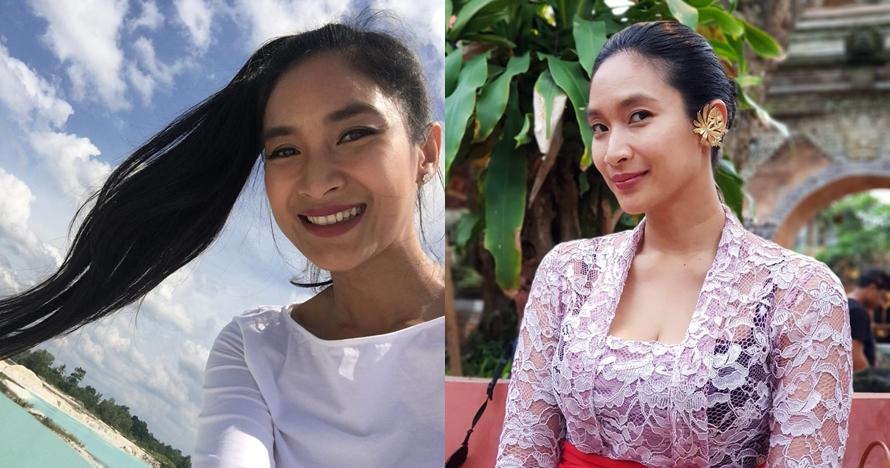 10 Bukti kecantikan Happy Salma tak luntur meski tanpa makeup tebal