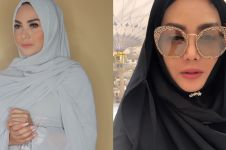 Biasa pakai dress ketat, ini 10 penampilan Krisdayanti kenakan hijab