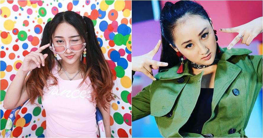 10 Pesona Sandrina Azzahra, pelantun lagu hits Goyang Dua Jari