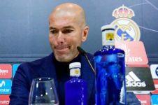 Ini kata Zidane saat ditanya CR7 penyebab mundur dari pelatih Madrid