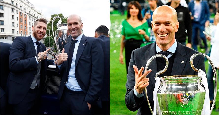 Ini kata Sergio Ramos saat dipamiti Zinedine Zidane
