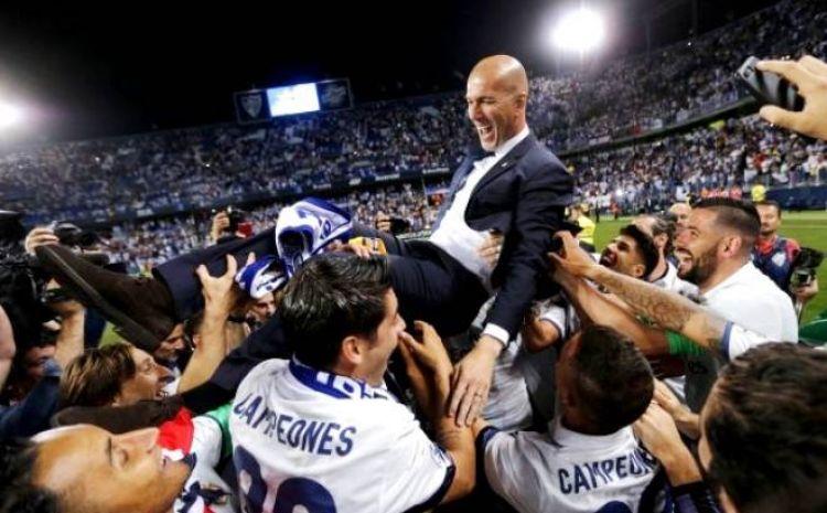 Ini bukti Zidane jadi pelatih legendaris Madrid hanya dalam 2,5 tahun