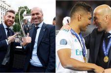 Begini ungkapan sedih 4 bintang Real Madrid ditinggal Zinedine Zidane