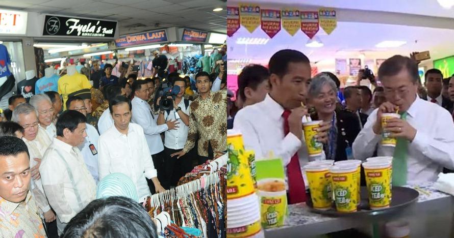 Jauh dari kesan formal, begini 5 aksi Presiden Jokowi jamu tamu negara