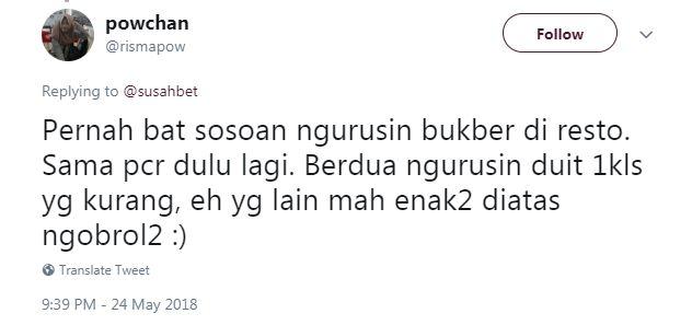 curhatan panitia bukber © Twitter