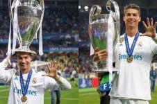Zidane mundur dari kursi pelatih Real Madrid, begini respons bijak CR7