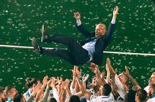 Ini isi WA terakhir Zidane ke grup pemain sebelum left grup