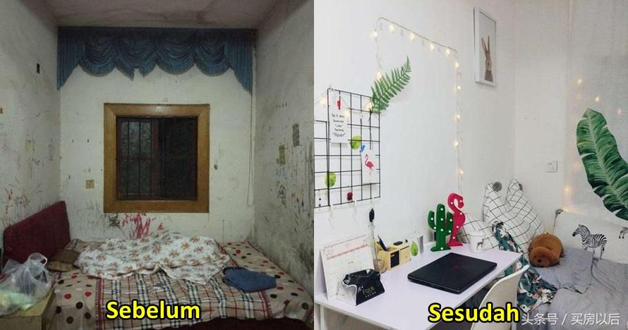 10 Potret transformasi kamar kos ini bikin takjub, kumuh jadi cozy