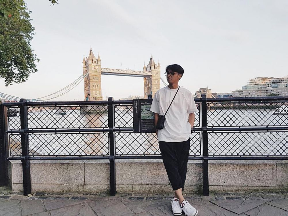 OOTD ala Ricky Harun © 2018 Instagram
