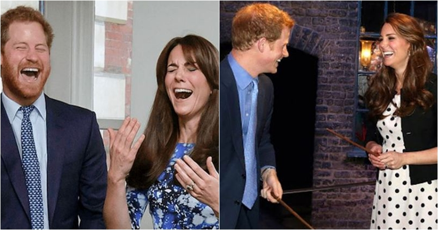 10 Potret hangat Pangeran Harry dan Kate Middleton, ipar goals