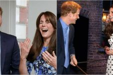 10 Potret hangat Pangeran Harry dan Kate Middleton, ipar goals