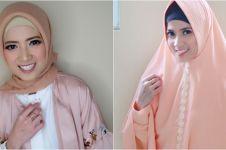10 Pesona Chika Jessica dengan balutan hijab, adem & bikin hati teduh