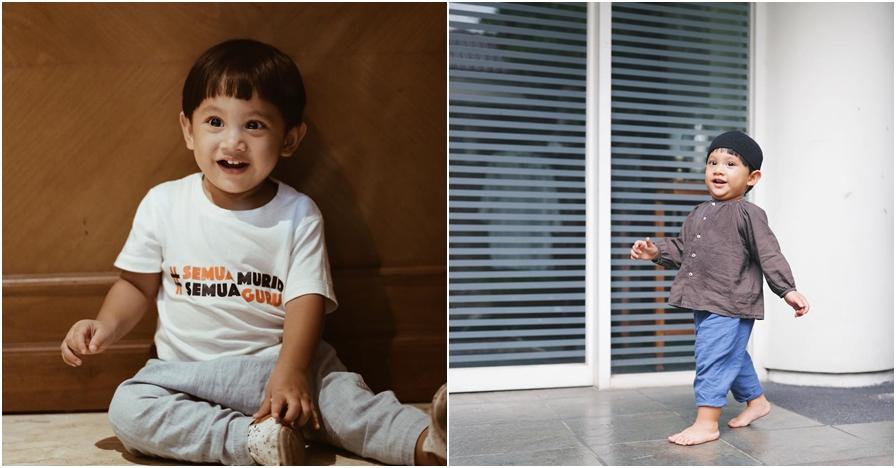 Gaya Kawa putra Andien olahraga ini bikin gemes netizen