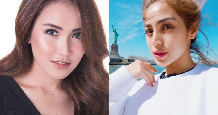 Berfoto bareng, alis Ayu Ting Ting dibandingkan alis Jessica Iskandar