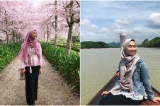 10 Pesona Nurul, hijaber cantik finalis Miss Universe Selandia Baru