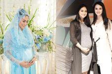10 Gaya Rini Yulianti hamil anak pertama, tetap stylish & memesona