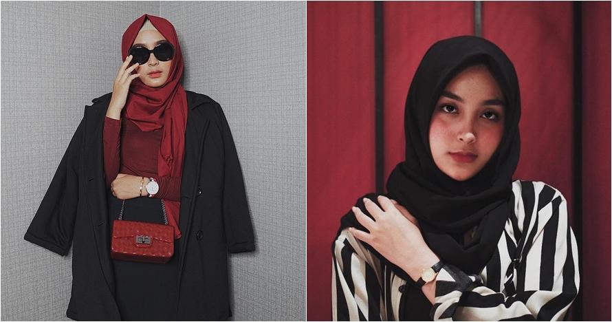 10 Gaya Isnaini Fauziah, hijaber cantik anggota baru manajemen Awkarin