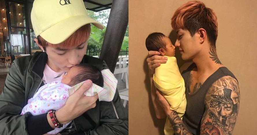 Lee Jeong-hoon unggah foto newborn, paras anaknya bikin kagum netizen