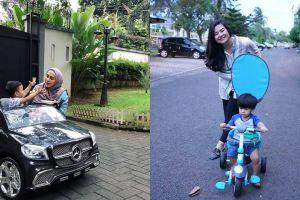 Harga sepeda & mobil mainan 7 anak seleb ini jutaan rupiah, wow!