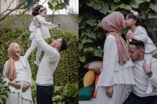 11 Potret maternity Poppy Bunga hamil anak kedua, hangat & penuh makna