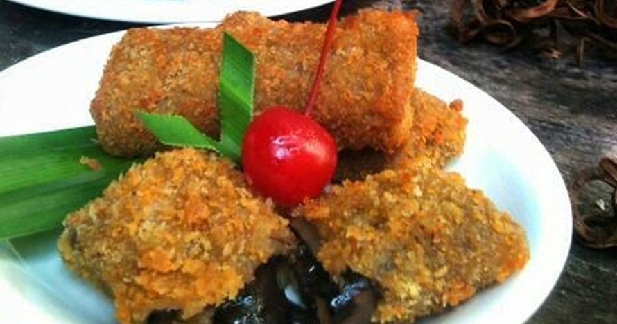 Resep mudah bikin risoles vla cokelat, takjil manis antimainstream