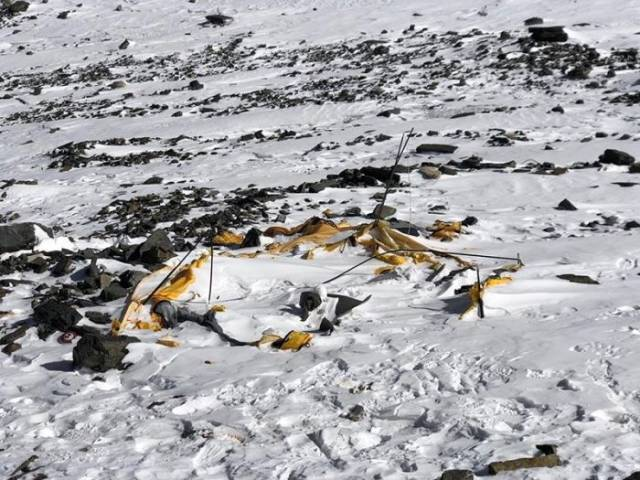 sampah gunung everest © izismile.com