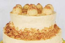 Antimainstream, yuk coba bikin nastar crumble cake buat Lebaran