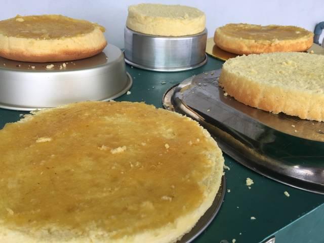bikin nastar crumble cake © 2018 Cookpad
