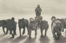 15 Foto langka ekspedisi Antartika pertama, dijepret 100 tahun lalu
