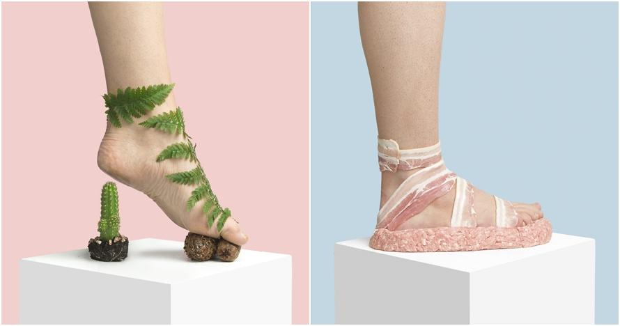 Unik abis, 10 'sepatu' dari benda sehari-hari ini bikin berdecak kagum