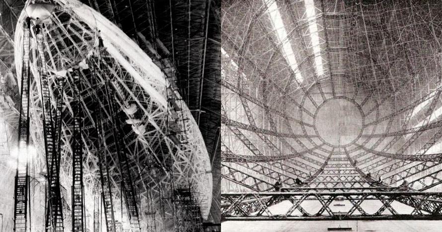 10 Potret proses pembuatan Zeppelin, balon udara terkuat di zamannya