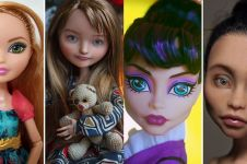 Makeup 10 boneka ini diubah jadi kekinian, hasilnya bikin pangling