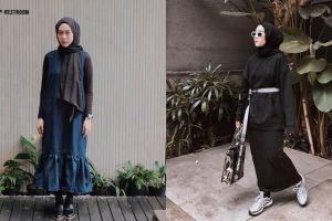 Lebaran tampil beda, ini 10 inspirasi outfit swag ala Intan Khasanah