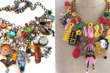 6 Perhiasan dari bahan daur ulang ini bikin penampilanmu beda seketika