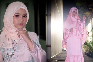 8 Penampilan Putri D'Academy kenakan hijab, cantiknya luar dan dalam