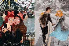 9 Foto editan tokoh Disney di zaman sekarang ini terlihat nyata abis