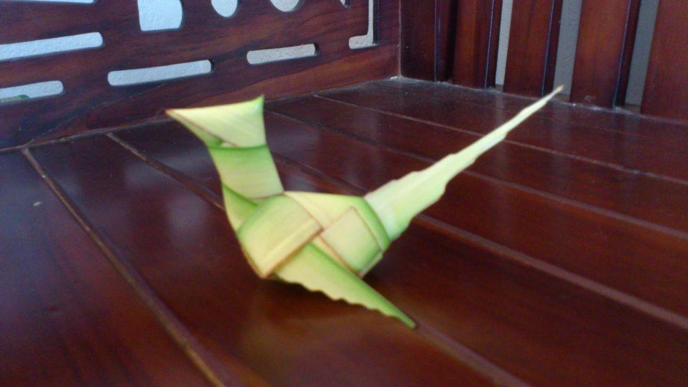 bentuk ketupat unik  © Youtube/@Cara Membuat Ketupat