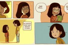8 Cerita komik 'jika bertemu diriku saat usia 10 tahun' ini bikin haru