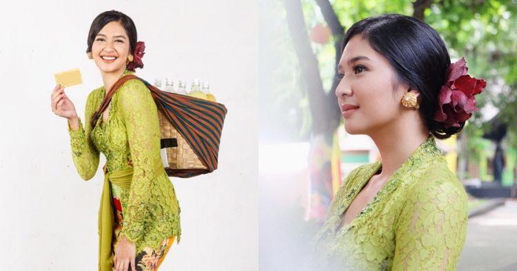 9 Potret cantiknya Mikha Tambayong jadi tukang jamu ini bikin terpana