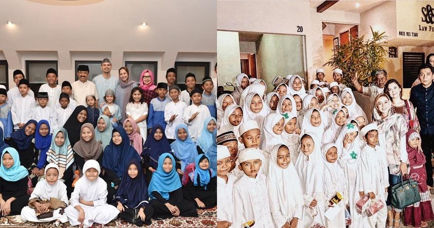 Berbagi berkah Ramadan, 7 seleb ini gelar buka bersama anak yatim