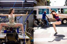 Beda dari biasa, ini 10 pose kece penari balet di berbagai tempat