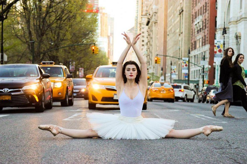 10 pose penari balet © 2018 Instagram