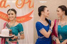 8 Potret bridal shower Erica kakak Citra Kirana, konsepnya Bollywood