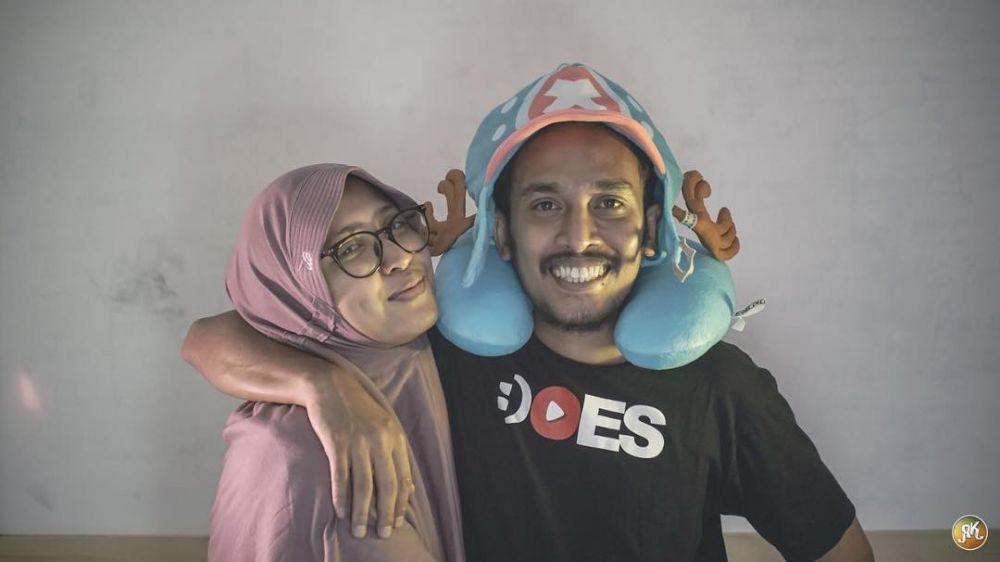 Abdur 'comic' dan istri © 2018 brilio.net