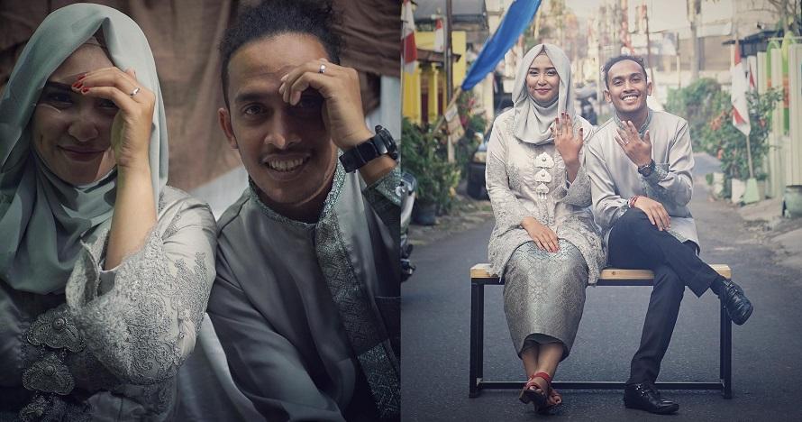 Jauh dari pemberitaan, ini dia 7 potret Abdur 'comic' dengan istri
