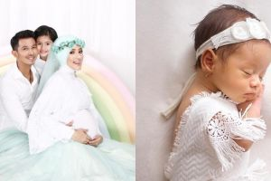 5 Potret newborn Queen Eijaz Slofa, putri Fairuz A Rafiq yang imut